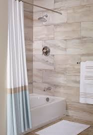 bathroom modern bathroom design with cozy american standard bathroom curtains with white american standard bathtubs and towel railing also marble walls for modern bathroom