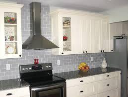 gray glass tile kitchen backsplash grey tile backsplash home tiles