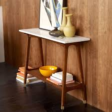 Mid Century Console Table Reeve Mid Century Console West Elm Uk