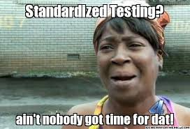 Image result for standardized testing memes