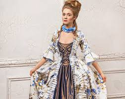 18th century dress etsy