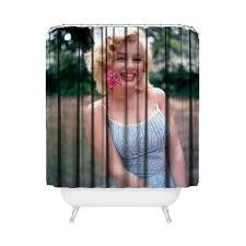 Marilyn Monroe Bathroom by Marilyn Monroe Photo Shower Curtain Bathroom Home Decor Fatboy