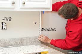 how to put backsplash in kitchen how to install a kitchen backsplash the best and easiest tutorial