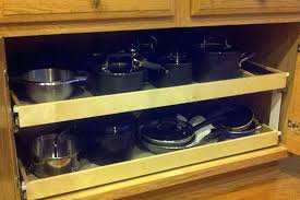pull out shelves for kitchen cabinets how to build your own pull