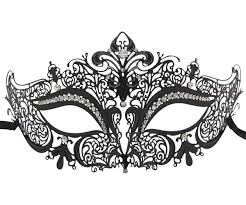 masquerade mask filigree crown masquerade mask
