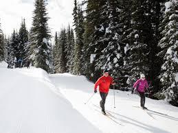 explore nordic skiing sun peaks resort