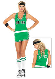 basketball halloween basket nba celtics player dress costume