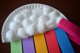 paper plate rainbow kid craft a night owl blog