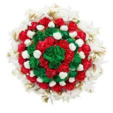 hair brooch design apurva pearls and green floral design hair brooch the99jewel