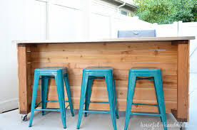 kitchen island build outdoor kitchen island build plans a houseful of handmade