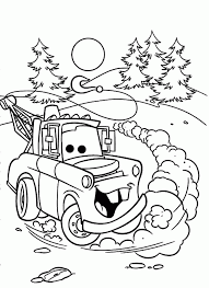 cars movie tow mater cars movie coloring mater coloring