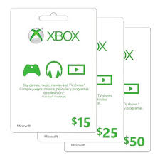 xbox cards xbox live gift card various amounts sam s club