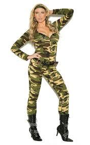 Size Halloween Costumes 3x 4x Elegant Moments Combat Warrior Camouflage Jumpsuit