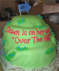 over the hill birthday cakes