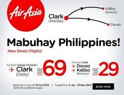 airasia singapore promo airasia direct flights singapore to clark philippines promo