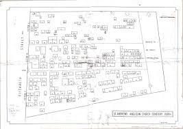northern midlands council cemeteries burial database anglican church yes map of cemetery