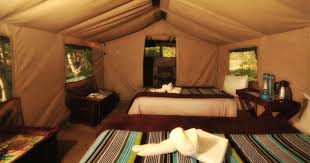 khwai tented camp bordering moremi game reserve luxury safari in