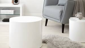 High Gloss Side Table Pebble High Gloss Side Tables Grey High Gloss Side Table