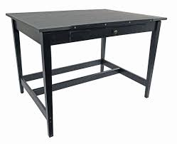 36 by 48 table drawing room table 36 x 48 black ash artist supply source