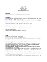 Free Server Resume Templates Waitress Resume Objective Qualifications Job Description For
