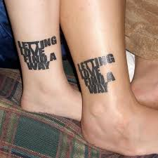 tribal couple tattoos on ankles in 2017 real photo pictures
