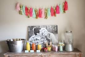 brunch bridal shower ideas pink and gold bridal shower brunch collier