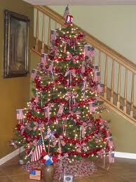 Diy Christmas Tree Pinterest 4th Of July Tree 2010 2010 Holiday Trees Pinterest Holidays