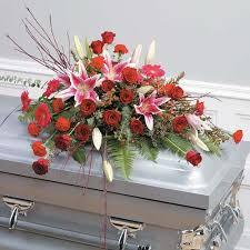 how to make a casket spray wylie flower and gift pink and casket spray same day delivery