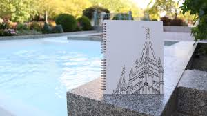 lds temples coloring book by artist to artist by brittnee
