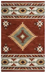 Lodge Style Area Rugs Rizzy Home Su1822 Southwest Tufted Area Rug 5