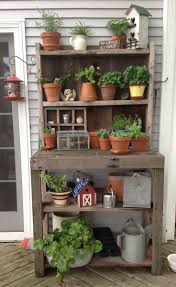decor plans for potting bench diy greenhouse benches potting