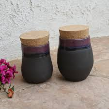 black ceramic kitchen canisters black clay kitchen canister set ceramic container lidded jars