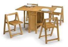 butterfly drop leaf table and chairs pine table chair sets with drop leaf ebay