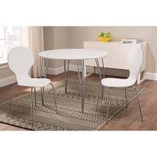 best choice products 5 piece kitchen dining table set w glass top