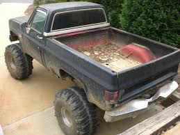 mudding truck for sale 1985 chevy 4x4 lifted on 44