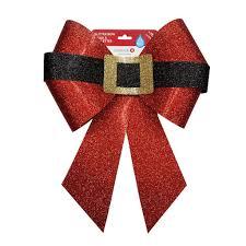 santa belt ribbon shop for the santa belt glitter bow by celebrate it at
