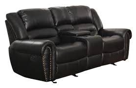 Leather Recliner Chair With Cup Holder Astoria Grand Medici Leather Reclining Sofa U0026 Reviews Wayfair