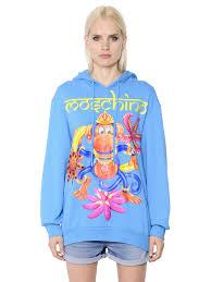 moschino women clothing sweatshirts fast delivery moschino women