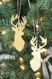 easy clay deer ornament lolly