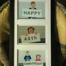 40 wedding anniversary gift 40th wedding anniversary gift ideas for parents design your own