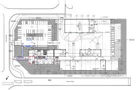 Ground Floor Plan Gallery Of Municipal Technical Center Studios Architecture 24