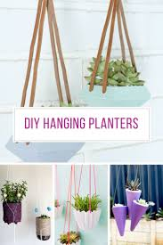 38 gorgeous diy hanging planters to help you breathe more easily