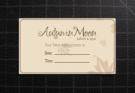 back business card autumn moon salon business card back after by skulaga on deviantart