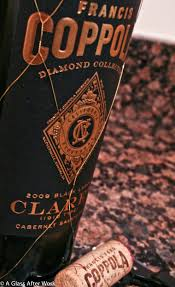 francis coppola claret coming home to coppola a glass after work
