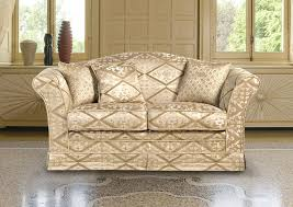 Traditional Fabric Sofas Traditional Sofa Leather Fabric 3 Seater Vienna Berto