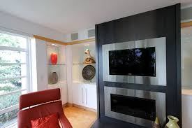 Corner Gas Fireplace With Tv Above by Flat Screen Above Fireplace Home Design Ideas