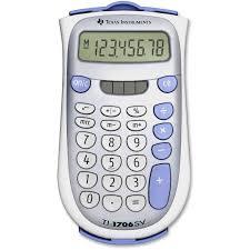 texas instruments ti1706 superview handheld calculator walmart com