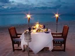 cena al lume di candela cena a lume di candela sulla spiaggia maryland viaggi