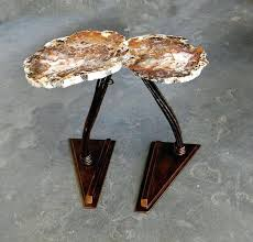 faux agate side table side tables agate side table agate side table faux agate side