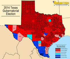 Red And Blue State Map by Texans Turn Deep Red For Abbott Hardhatters